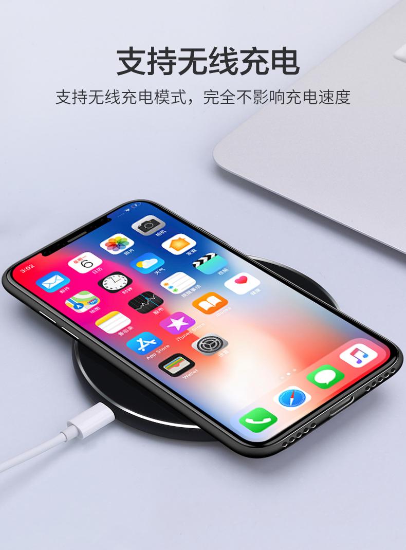 苹果x手机壳iPhonexs max超薄iphone11透明11pro max轻薄iPhonese磨砂苹果8plus套7潮xr潮牌8P男xs新款x女se2商品详情图