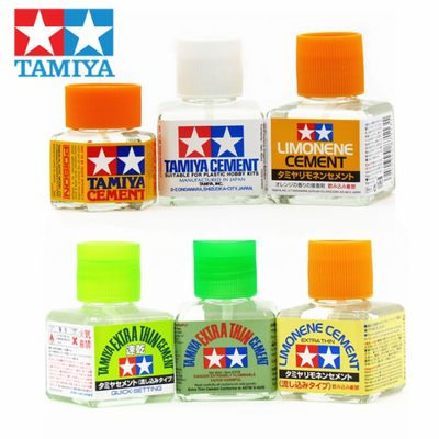 Tamiya glue accessories, slip seam glue, orange flavor, white cover, Gundam model glue, quick-drying green cover, seamless glue
