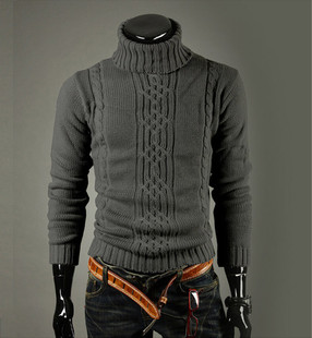 High Quality Casual Sweater Men Pullovers Fashion Autumn win