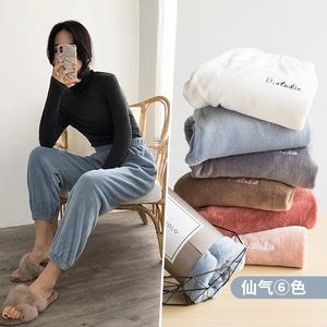 【冬季熱銷】仙女珊瑚絨暖暖褲睡褲
