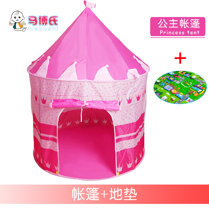 Princess Tent + Cartoon Pad