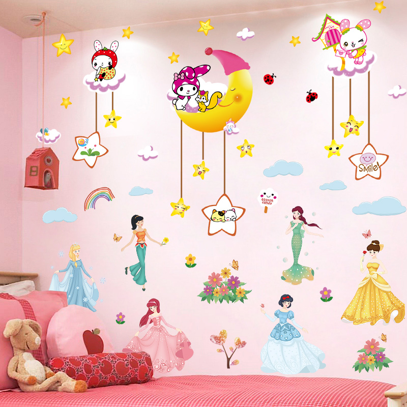 Usd 8 07 Cartoon Princess Wall Stickers Children S Room Decorated Warm Girl Bedroom Wallpaper Self Sticking 3d Three Dimensional Wall Stickers Wholesale From China Online Shopping Buy Asian Products Online From The Best,Hemingway Home Key West Florida