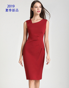 платье连衣裙 Women's Summer Fashion Sleeveless Dresses