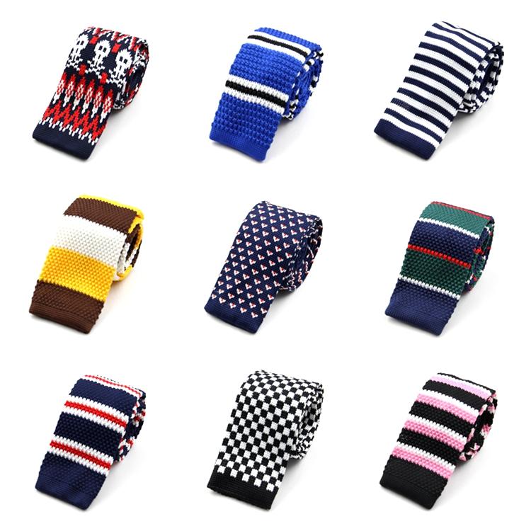 男女休闲韩版平头针织系列领带 正装 商务结婚英伦学院风领带包邮