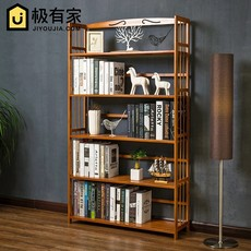 Simple bookshelf floor storage racks children's students with solid wood multi-layer simple modern desktop small bookcase