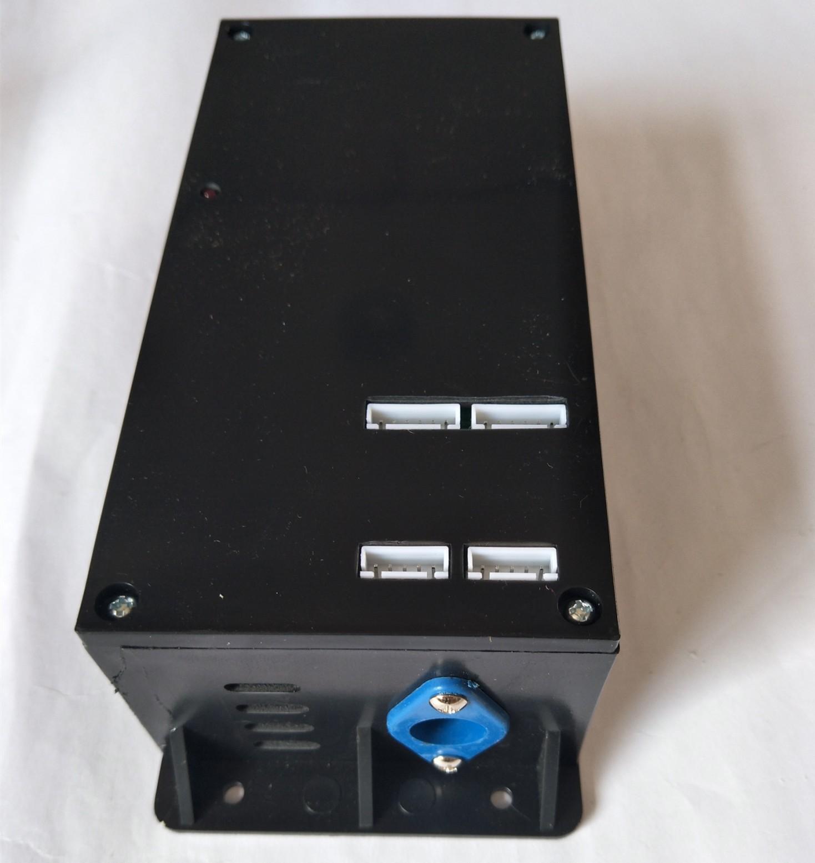 彩钢门互锁,电子联动锁,带指示灯开门(图4)