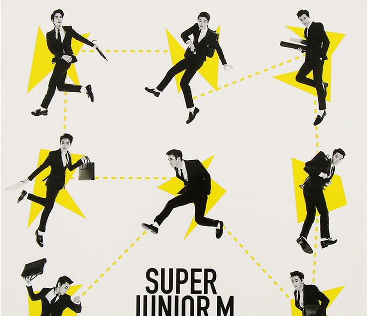 百惠雜貨店 正版 Super Junior-m新專輯 SJ-M swing嘶吼迷你3輯 CD+簽名小卡