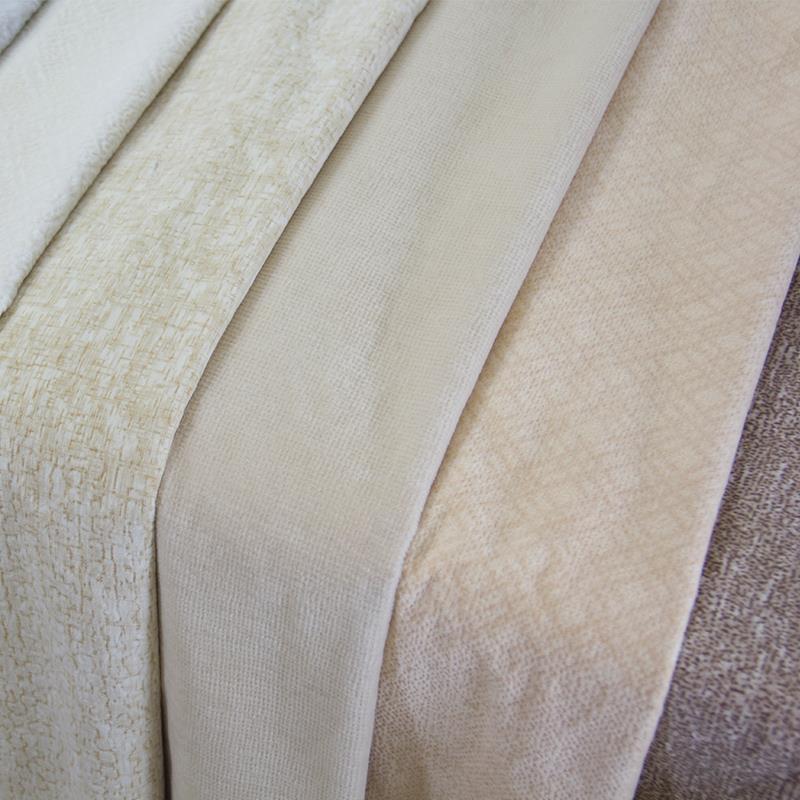 免洗三防布植绒餐椅欧式现代面料工程桌布坐垫布料沙发包邮