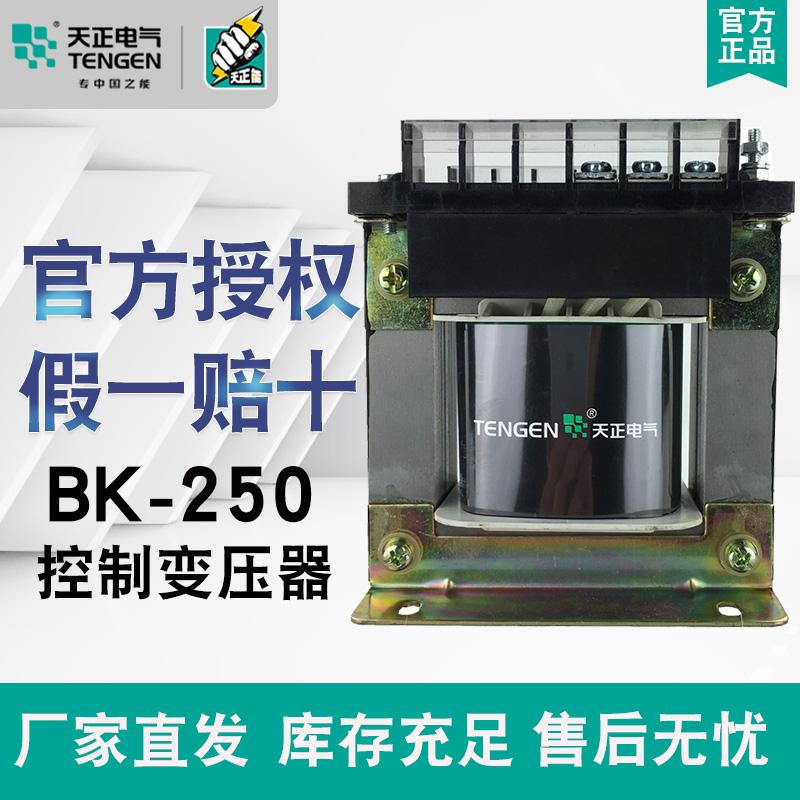 Biến áp điều khiển Tianzheng TENGEN BK-250VA 380220110 36 24126V Đồng 250W