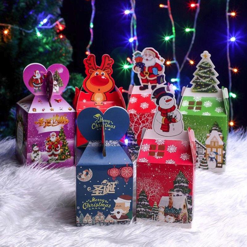 圣诞节苹果盒平安果包装盒