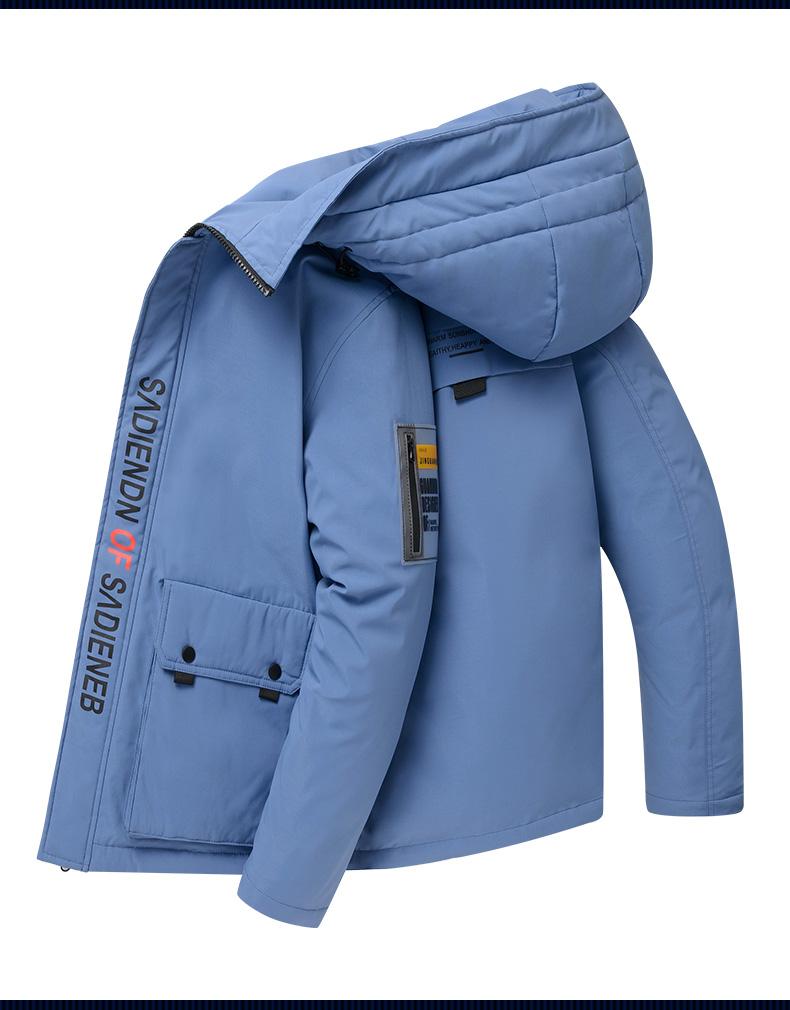 Men's jacket 2020 winter new Korean version trend short thickened teen men's down jacket light winter dress 46 Online shopping Bangladesh