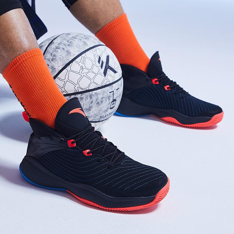 安踏星轨2代篮球鞋男官网旗舰2020新款夏季实战高帮战靴运动鞋男