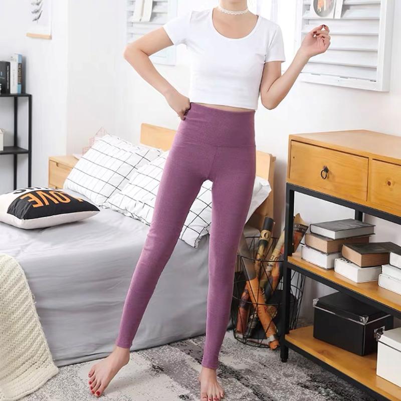 新款穿衬线裤女士纯棉薄款保暖裤-秒客网