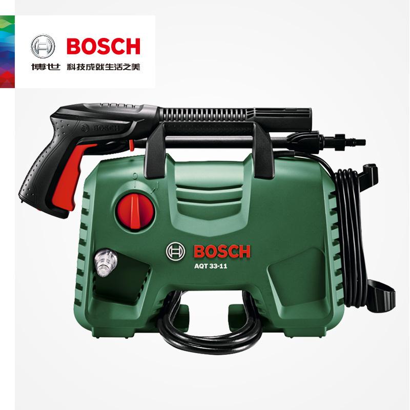 Máy rửa xe áp lực cao của Bosch vũ khí hộ gia đình cầm tay điện nước máy bơm nước hồ bơi công cụ điện AQT33-11 - Dụng cụ điện