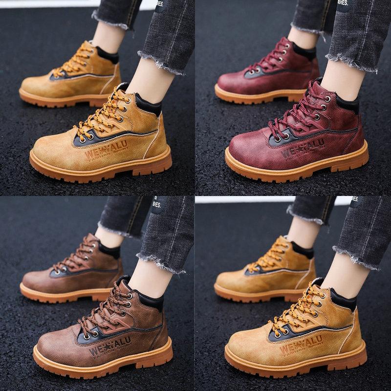 儿童马丁靴女童单靴春秋季英伦风高帮靴子男童皮鞋防水中大童短靴
