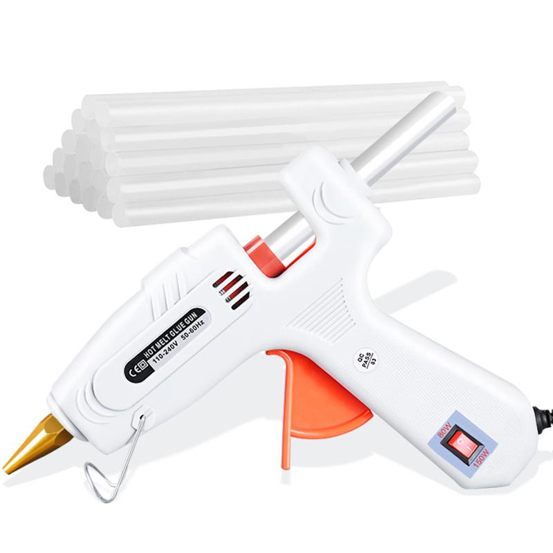 家用手工小号热熔胶枪电热熔胶胶水塑料热溶胶抢送热融胶棒7 11mm