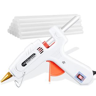 热熔胶枪 家用手工制作工具胶条胶水电热强力熔胶棒7mm小号迷你11