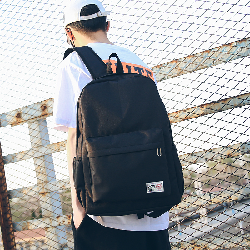 Students fashion trends Korean backpack