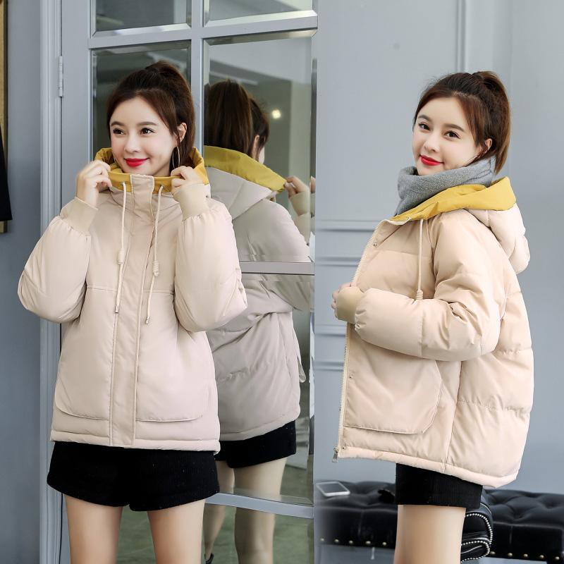 面包服女冬季外套学生韩版棉衣小个子加厚小棉袄短款棉服2019新款