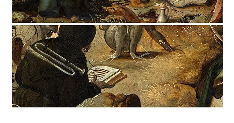 博斯 油画图片素材电子版超现实主义喷绘打印临摹装饰画教学插图(11)