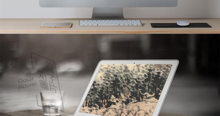 石涛国画高清图片电子版精册页小品教学临摹装饰画芯设计喷绘素材插图(16)