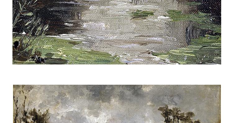 卡洛斯.德贺斯 油画高清图片风景临摹素材喷绘打印装饰画画芯插图(9)