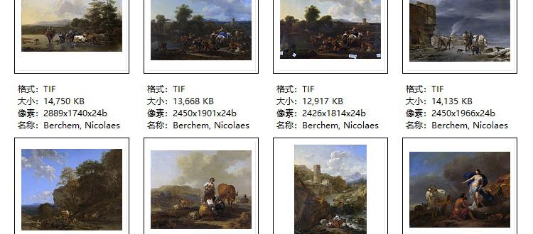 荷兰阿姆斯特丹国家美术馆油画高清电子图片素材教学临摹资料收藏插图(50)