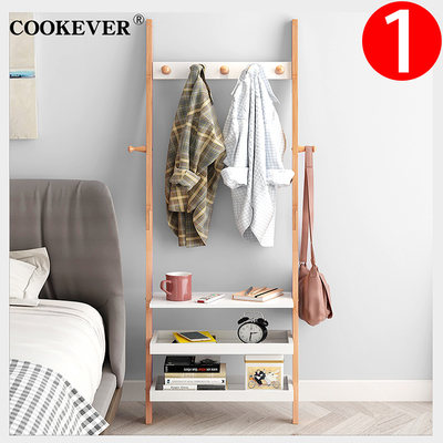 Nordic cloud laundry bedside table simple modern multi-function solid wood bedroom bedside creative storage storage cabinet rack