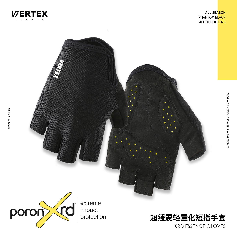 英Vertex骑行动感半指单车自行车短指手套夏季山地男女手套款