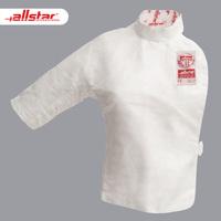 Allstar Osda FIE сертифицирована тонким и легким воздухопроницаемый Конкурс женского цветочного шпата «Малый жилет» Фехтование сэндвич