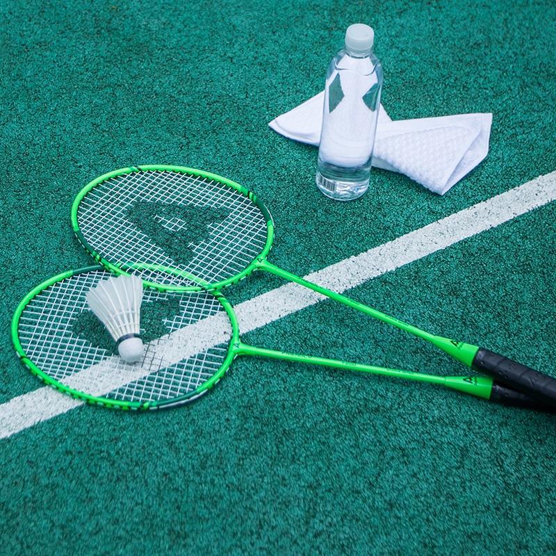 安格耐特羽毛球拍双拍赠3球球包