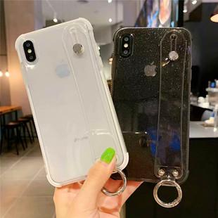 苹果11透明闪粉硅胶手机壳