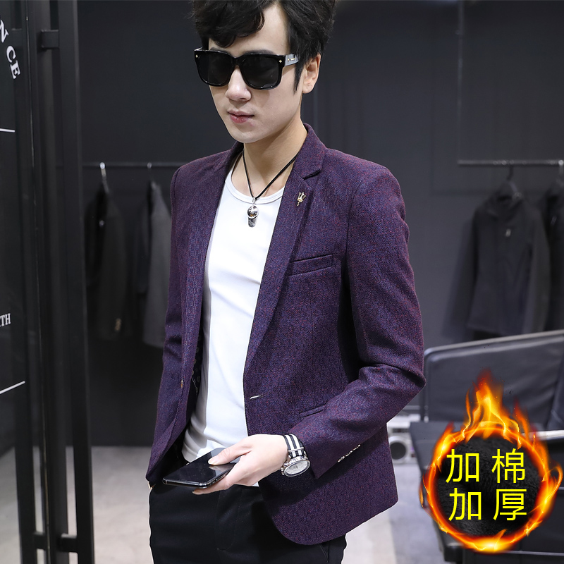 [1802] [PLUS COTTON THICKENING] PURPLE