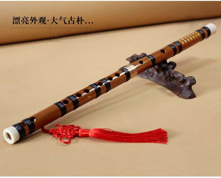 Traditional Flute Jade Flute White Jade Beginners Piccolo Adult Professional Playing Female Ancient Musical Instrument Portable Size : C Tone