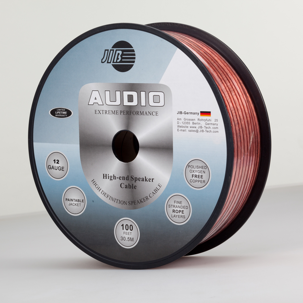Germany Jib 12 Guage Surround Sound Cable Speaker Good Wiring Speakers For Audio And Video Engineering