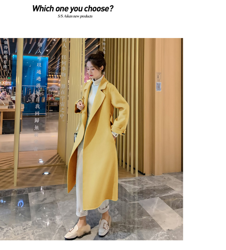 个性纯色百搭显瘦减龄优雅气质时尚潮流2019秋冬新款