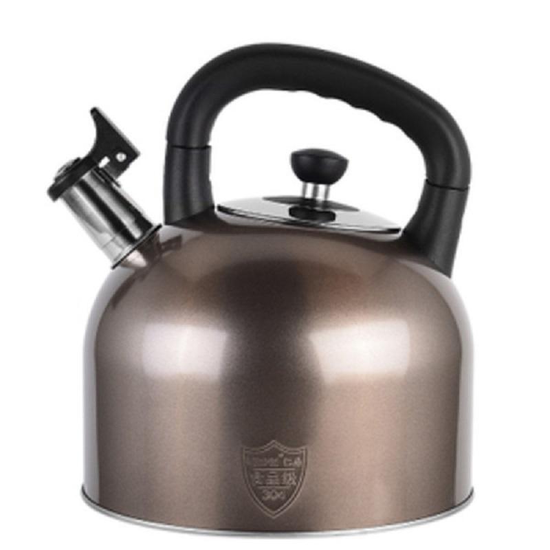 烧水壶304不锈钢鸣笛开水壶加厚大容量电磁炉家用热水壶通用煤气