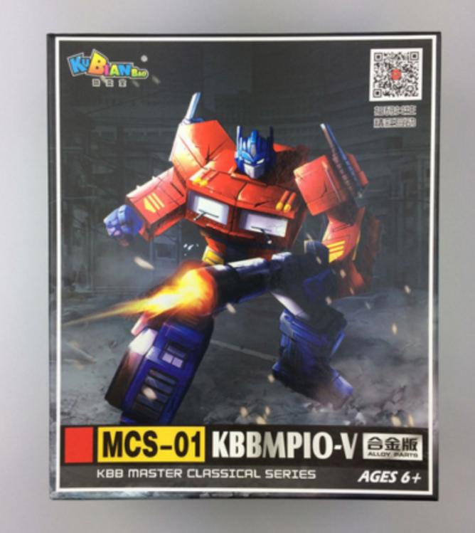 MP10V Transformer Alloy Edition Optimus Prime with flight back