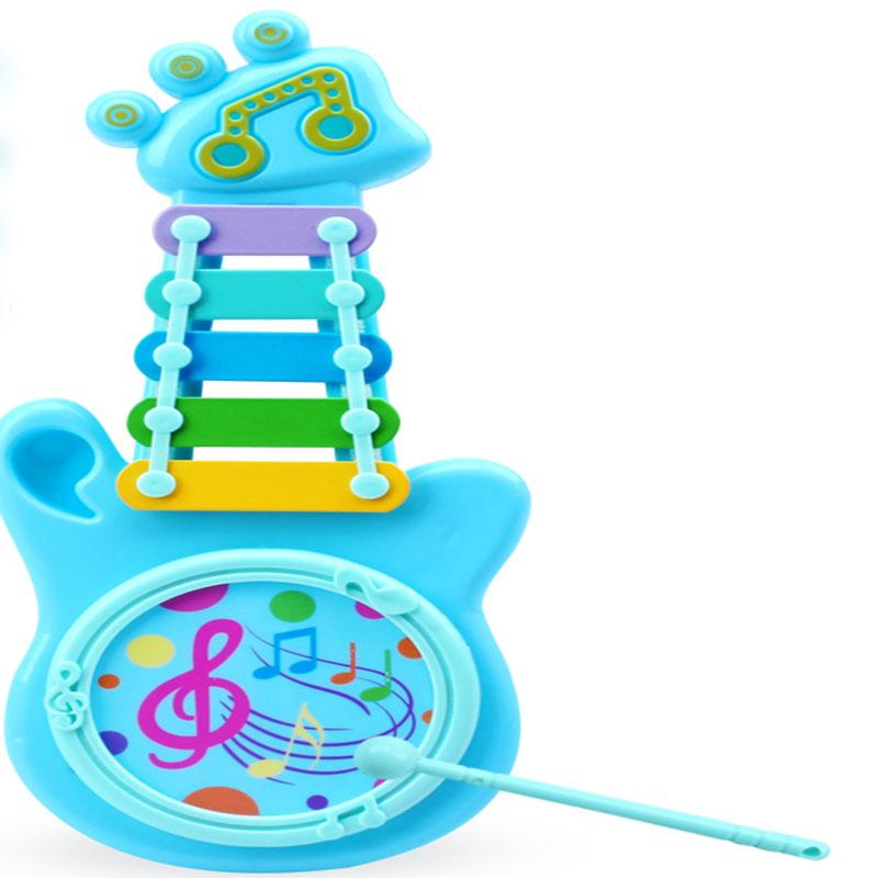 儿童益智八音手敲琴8个月宝宝益音乐玩具1-2-3周岁婴儿敲打乐器