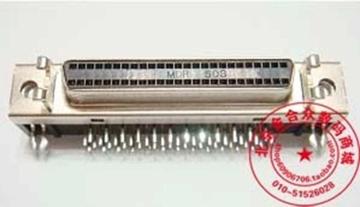 SCSI-устройство для SCSI 50pin90 градусов штекер правления дБ - 50 согнуты контактный разъем db50 женский локоть разъем место сварки пластины