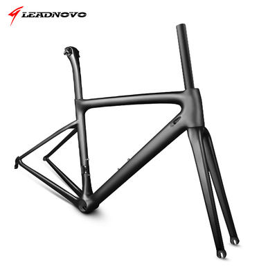 LEADNOVO new carbon fiber road climbing bicycle frame T1000 ultra light 766G customizable coating