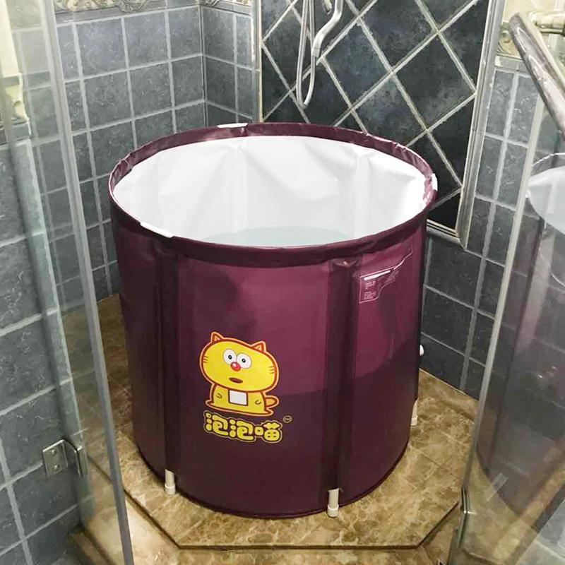 Домашнее хозяйство полностью Взрослая купальная ванна взрослая со складыванием утепленный Ванна без пузырьков с возможностью отсоединения пластиковая ванна