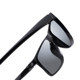 2018 new sunglasses men's driving sunglasses men's driver mirror polarized driving mirror men's tide square hipster eyes