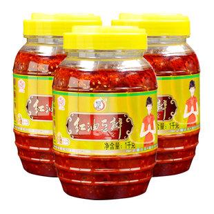 赵雅芝代言 恒星红油豆瓣酱2000g