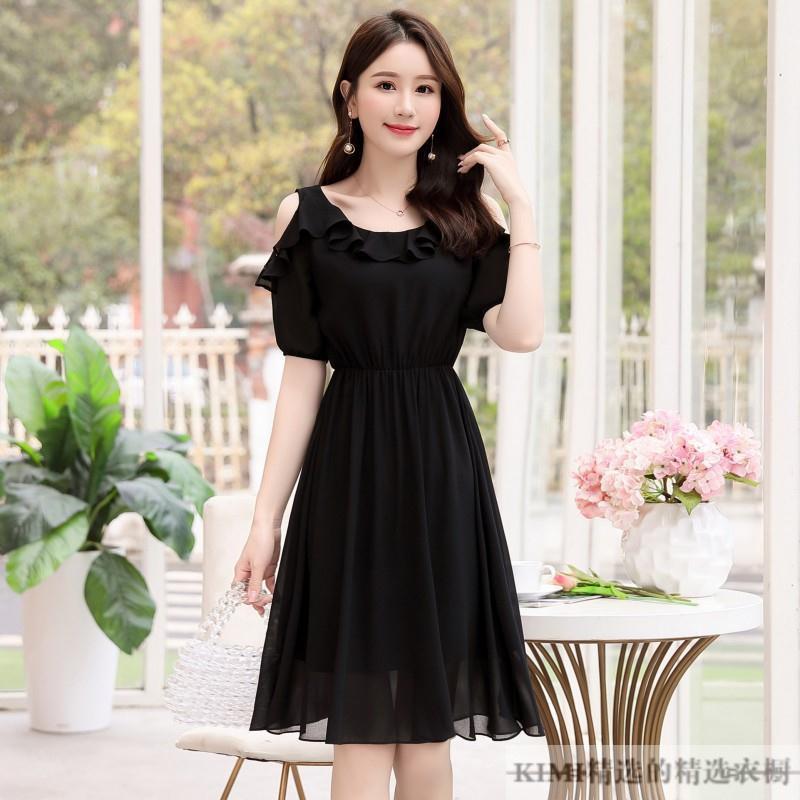 夏季新款小个子雪纺连衣裙