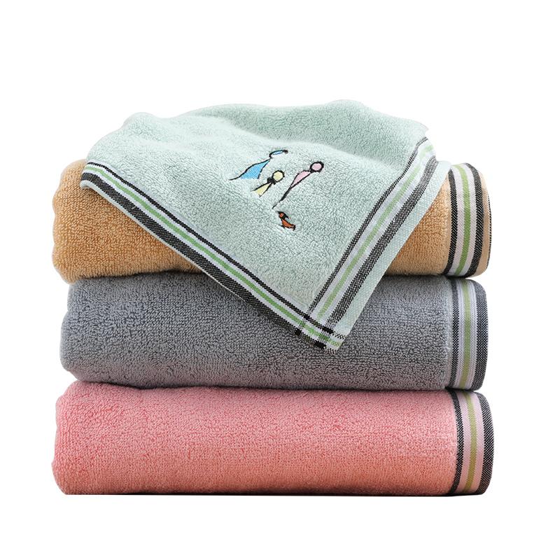 抗菌比純棉吸水家用柔軟洗澡大毛巾速干不掉毛浴巾情侶男女裹巾