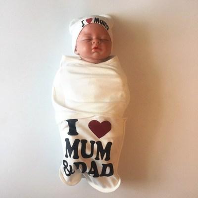 Túi ngủ trẻ sơ sinh chống giật mình quấn khăn quấn vào mùa xuân và mùa hè túi ngủ trẻ em bọc chăn bông - Túi ngủ / Mat / Gối / Ded stuff