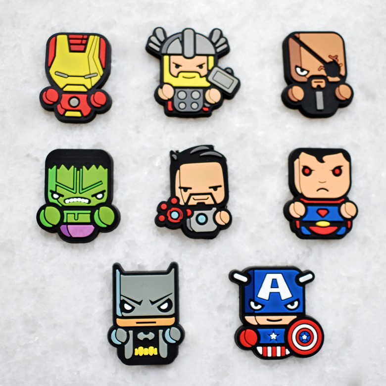 Q Version Of The Avengers 8 Sets