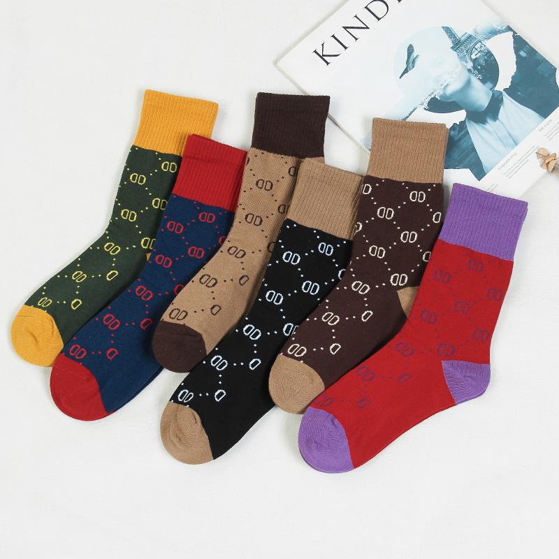 3双中筒袜日系网红街头个性百搭堆堆袜