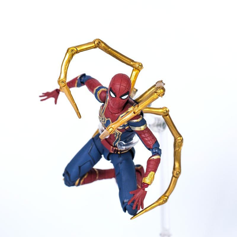 复仇者关节4动漫之战漫威蜘蛛侠a关节版终局可动联盟手办模型玩具